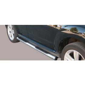 Sidebars Peugeot 4007 63mm