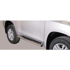 Sidebars Toyota Landcruiser 150 3-deurs - Rond