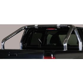 Roll bar VW Amarok vanaf 2010 (alle modellen) - 2 buizen