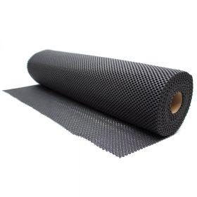 Antislipmat - Zwart - 60 x 500 cm - Voor o.a. werkbanken en lades