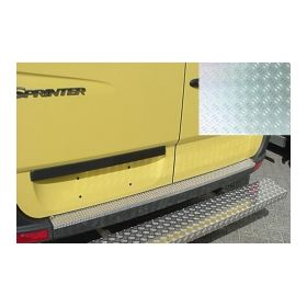 Bumperplaat  Mercedes Sprinter 2006 Aluminium