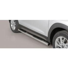 Sidebars Hyundai Tucson 2015 - Rond