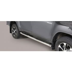 Sidebars Toyota Hilux D.C. 2016 - Rond