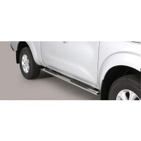 Sidebars Nissan Navara NP 300 King Cab 2016 - Ovaal