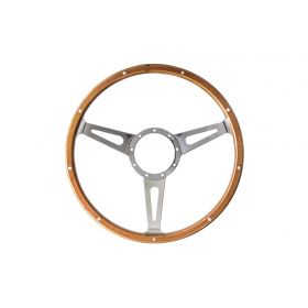 mahonie houten stuurwiel