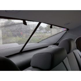 Privacy shades Saab  9-3 sedan 2002