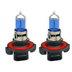 Xenonlooklampen Halogeen  'Blue Ice Racing' H13 (4200K) 12V/60-55W, set à 2 stuks ECE-R37