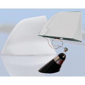 aluminium haaienvin antenne chrome