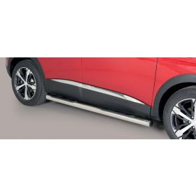 Sidebars Peugeot 3008 - 2016/Nu - Rond