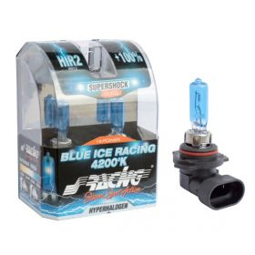 Xenonlook lampen Halogeen 'Blue Ice Racing' HIR2 (4200K) 12V/55W, set à 2 stuks ECE-R37