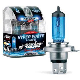 Xenonlook lampen Halogeen  'White Shock' H3 (4200K) 12V/55W, set à 2 stuks ECE-R37