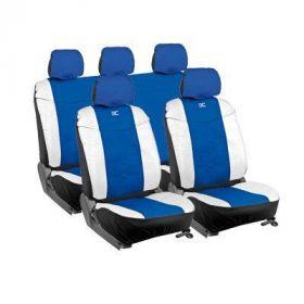 stoelhoesset autostoelhoezen miami blauw