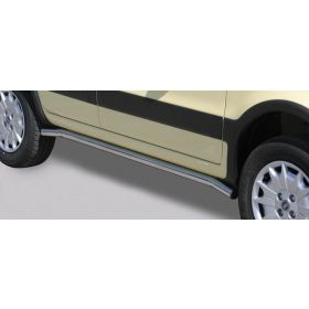Sidebars Fiat Panda 4X4 2005-2008 Long 50mm