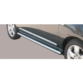 Sidebars Kia Carens 63mm