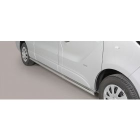 Sidebars Opel Vivaro LWB 2014 - Rond